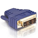 HDMI Female to Male DVI-D™ Inline Adapter