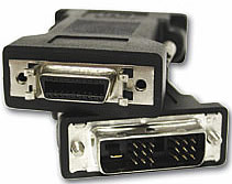 DVI Male to DFP Female Video Adapter